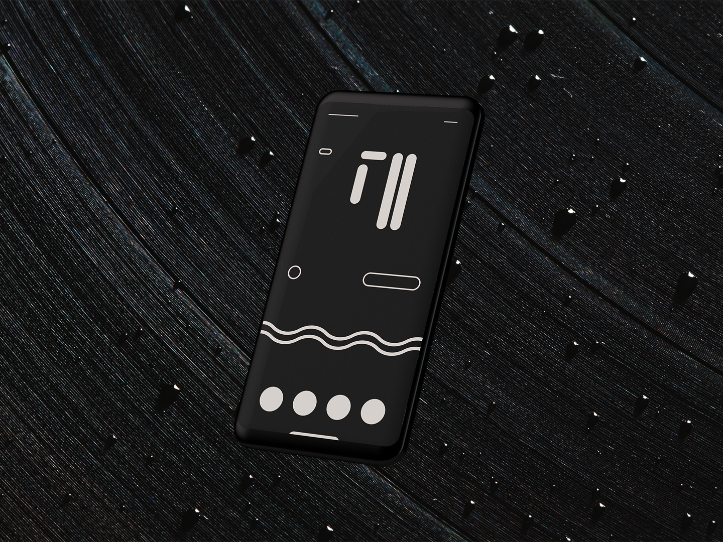 Abstract ui face
