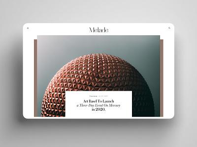 Editorial Cover elegant creative inspiration minimalart bold clean minimalism geometry grid luxury function uiux webdesign app editorial desktop ui interface