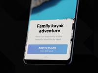 Travel app — Shot Facelift