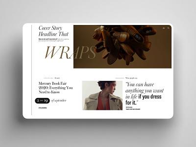 Editorial Modularity elegant uiux webdesign interface creative inspiration editorial luxury desktop ux ui function grid geometry clean minimalism app