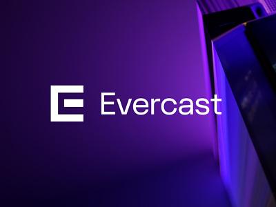 Evercast ux ui typography website art design logo brand design branding brand identity