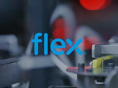 Flex film making production house logo industrialdesign flex film brand film film reel film and production