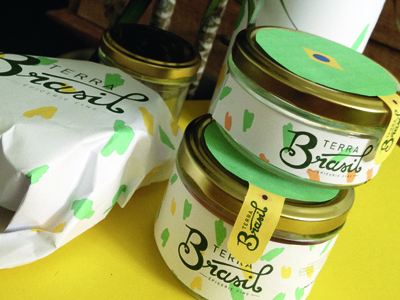 Terra Brasil branding packaging logotype identity