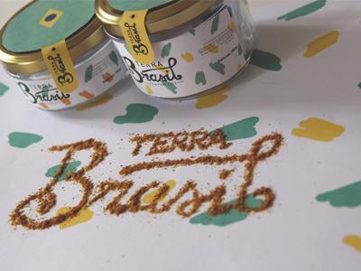 Terra Brasil part3 lettering branding packaging brasil grocery