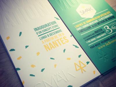 INVITATION CONCEPT STORE print branding event conceptsore invitation brasil