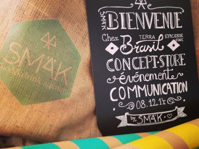 CONCEPT STORE lettering script branding decoration brasil