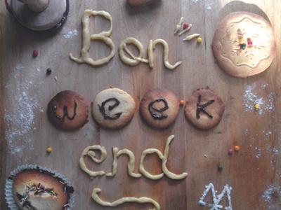 week-end cake food script weekend photography