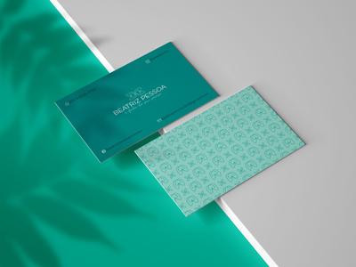 Business Card Beatriz Pessoa businesscard logo design branding logodesign