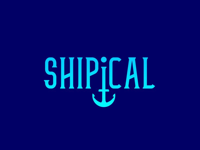Shipical sea tour logo sea tour sea ocean ocean logo naval boat logo navy logo navy boat design clean vector logo design flat logo design flat  design flatdesign branding logo flat logo