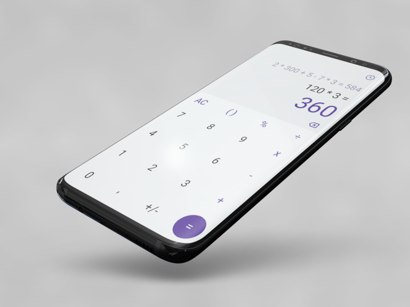 DailyUi#004 - Calculator application design app figma daily ui challenge mockup ux design uxdesign ui  ux ui design calculator design calculator app calculator ui daily 100 challenge dailyui