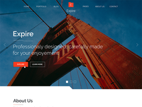 Expire Theme for Themeforest