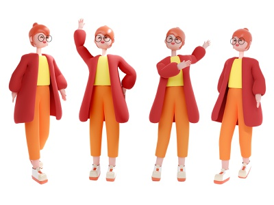women stand people illustration illustration digitalart 3d character modeling women in illustration character concept indonesia characterdesign 3d 3d illustration 3d art blender 3d character 3d animation 3d modeling 3d character design