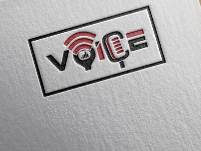 Voice Logo Design brand identity brand wave logo sound logo mic logo brandidentity creative logo creative design branding design logodesign logo