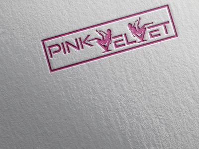 PINK VELVET LOGO DESIGN party logo nightclub pink logo logo ideas logo inspiration logotype logoart letter logo design brand design logodesign logo creative logo creative design branding brandidentity