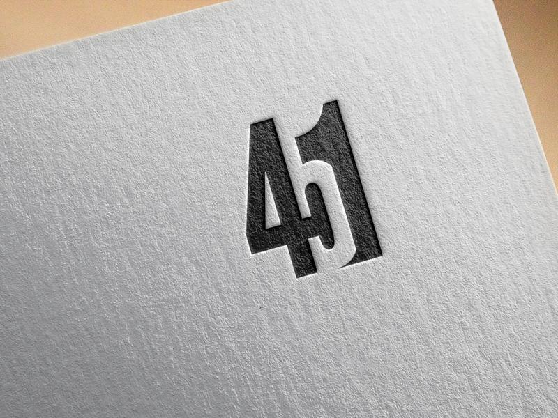 Number Design graphicsdesign 451 number design creative design