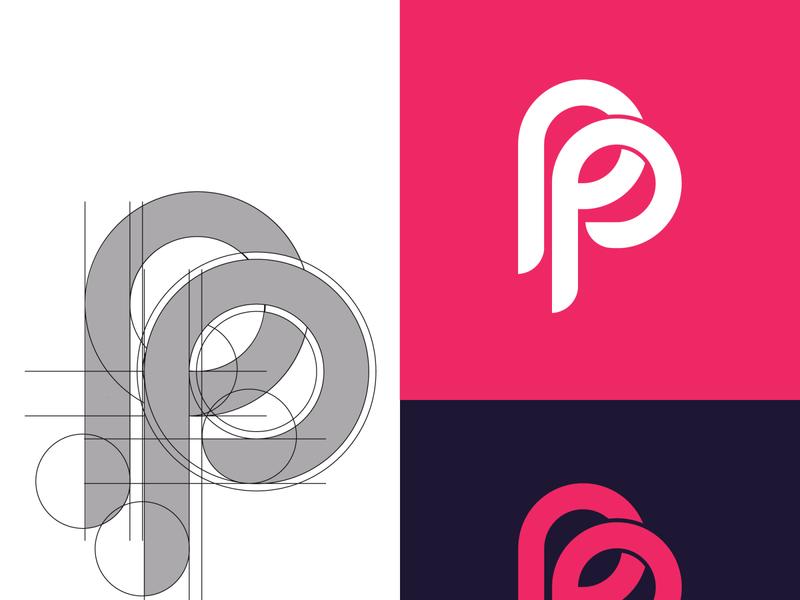 PP LETTER LOGO DESIGN wordmark logo pp letter logo logoart brand identity brand letter logo design branding brandidentity logo logodesign creative logo creative design