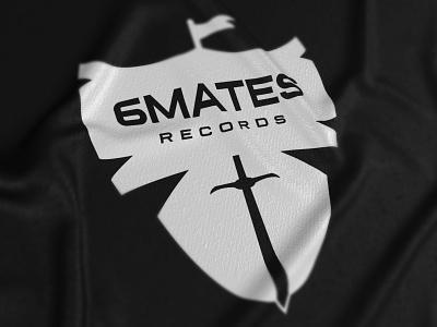 6Mates Records — Logo beatmakers music visual design print brand logo visual identity logo design logo