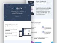 ISAAC Landing Page