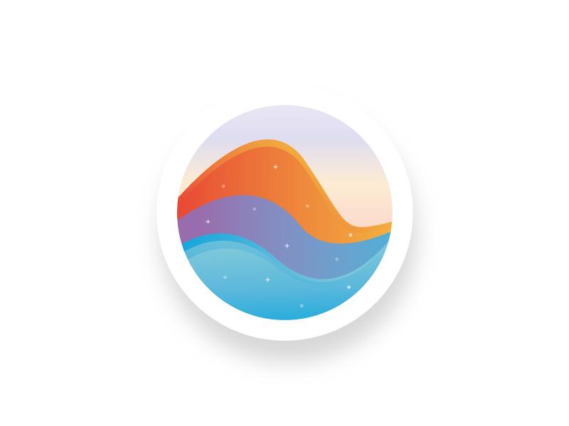 Waves Logo vector illustrator illustration design liquid inspiration logo