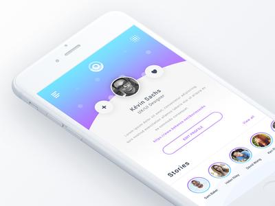 Stories - Mobile UI Inspiration