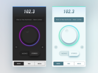 Radio - Mobile UI Inspiration