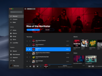 iTunes x Apple Music - UI Inspiration