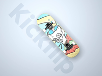 Kickflip - 3D Animation