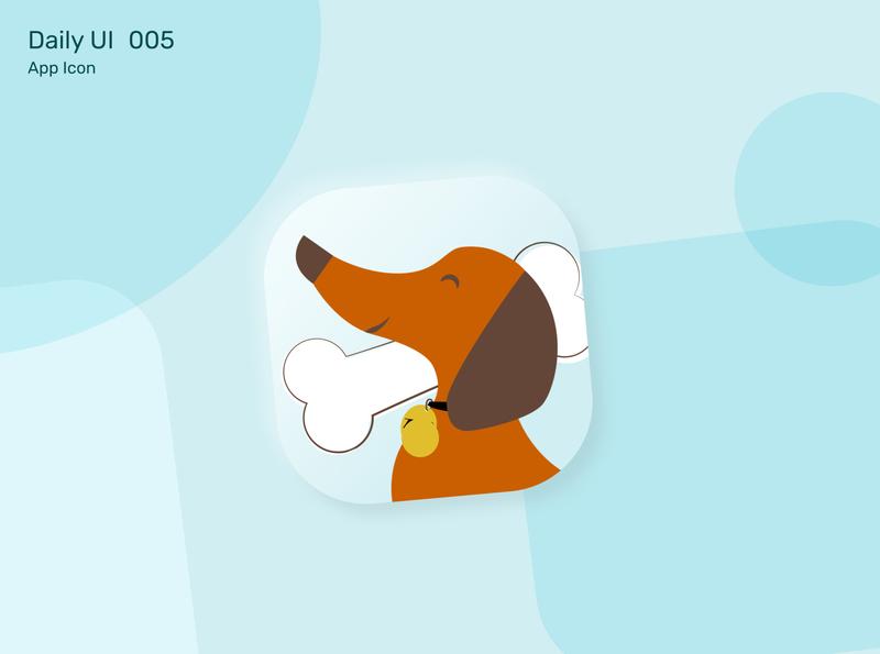 #DailyUI Challenge 005 - App Icon mobile ui mobile app mobile icon design icon concept color challenge design app ux ui