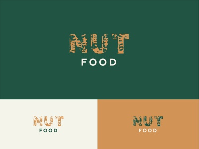 Nut Food | Shop of nuts and dried fruits peanut food nut identity design logo branding brand