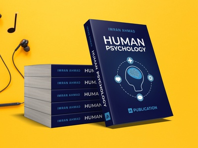 Ebook Cover - Human Psychology graphicdesign covers book design book psychology book graphics design cover design book covers print design human psychology books ebook design ebook cover book cover design book cover