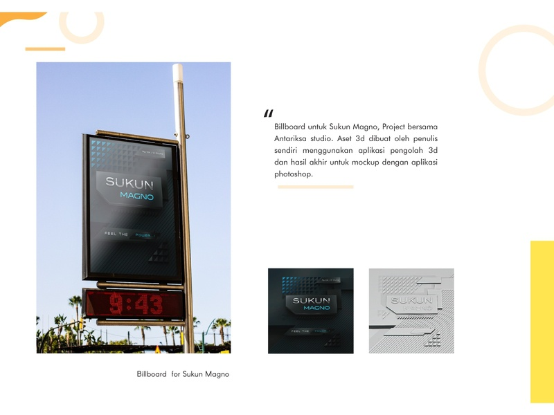 Billboard 3D Perspective blender 3d blender billboards billboard mockup design branding billboard design billboard 3d artist 3d art 3d