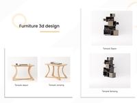 Furniture 3D Design home interior design interior blender 3d blender furniture 3d artist 3d art 3d