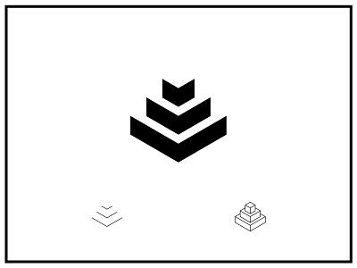 Negative space logo webdesign interface web graphic design concept userinterface uidesign inspiration ui