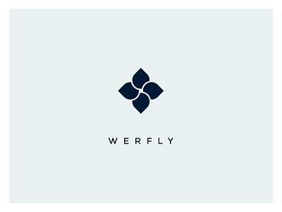 Werfly branding concept logo design graphic logo graphic design concept userinterface uidesign inspiration ui design