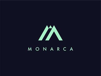Monarca inspiration graphic design concept branding logo design