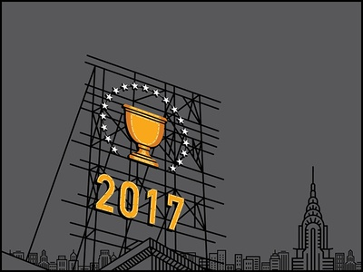 2017 Presidents Cup Graphic Concept - 1