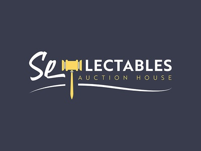 Se-Lectables Auction House Logo Design
