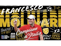 Francesco Molinari Player Poster