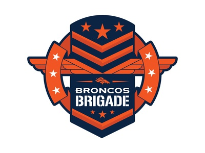 Broncos Brigade Logo Concept
