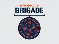 Broncos Brigade Logo Concept 2