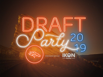 Denver Broncos 2019 Draft Party