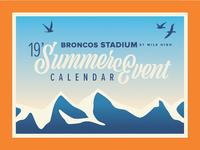 Broncos Stadium Summer Events 2019