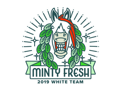 Minty Fresh (2019 White Team) Logo
