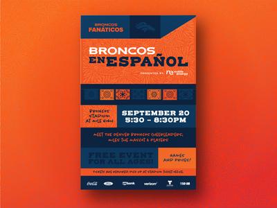 Broncos En Español Campaign
