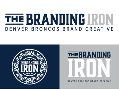 The Branding Iron Logo Concept