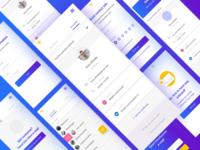 Meetemu App 🤷♂️ — mobile screens!