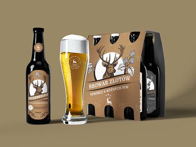 Złotów Brewery Concept illustration design manufacture polish brawery brawery