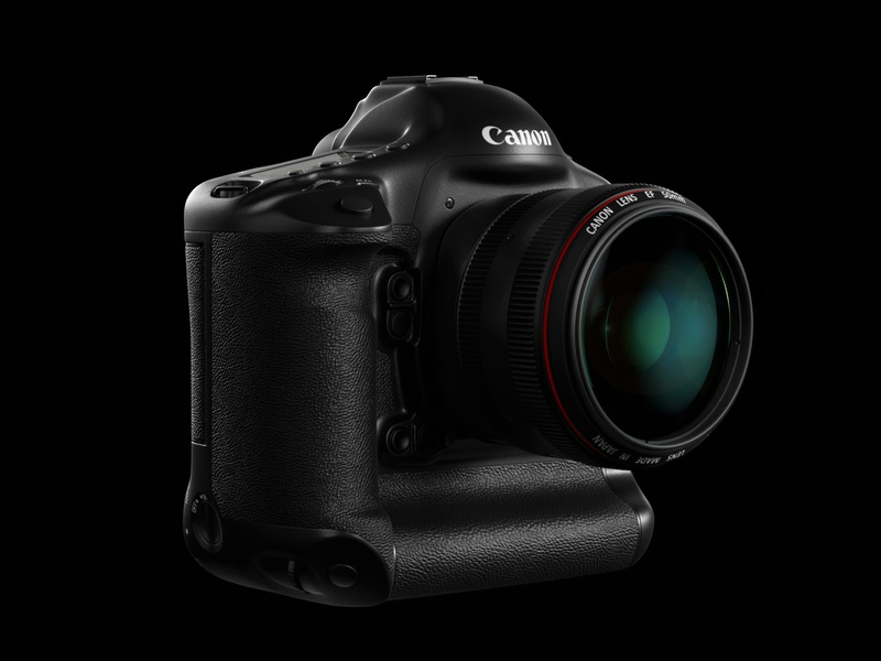 Canon Camera redshift3d product visualization 3d rendering