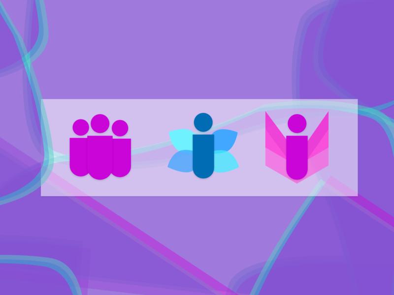 Redesign simplicity web design minimal illustration app branding logos logodesign icon set icons icon logo