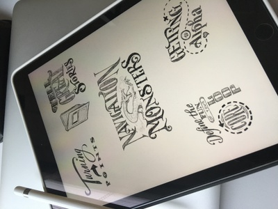 Toodles 43 - UXi Edition toodles procreate ipad pro apple pencil hand drawn lettering